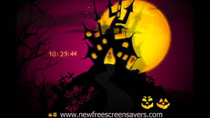 halloween screensaver nfshouseghost youtube