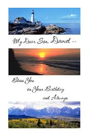 a son is a blessing greeting card happy birthday printable card