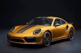 porsche yellow paint code 2018 porsche 911 turbo s exclusive series delivers 607 hp motor
