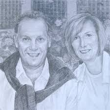 custom pencil sketch from photo