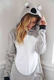 pj jumpsuit koala plush pj jumpsuit forever 21 2000141583