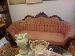 help dating antique settee sofa