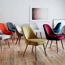 west elm mid century dining table midcentury dining chairs mid century upholstered dining chair velvet