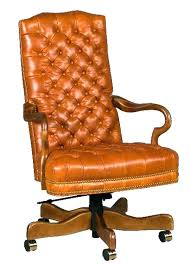 tufted leather desk chair leather swivel office chair lesdonheures com