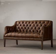 leather dining bench with back foter