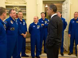 astronauts in the oval office nasa