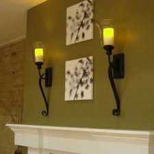 Wall Mounted Candle Sconce Decor U0026 Tips Glass Pillar Candle Holders For Candle Sconces With
