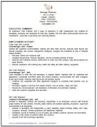 Restaurant Manager Resume Example by Download Standard Resume Haadyaooverbayresort Com
