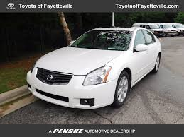 2007 used nissan maxima 4dr sedan v6 cvt 3 5 sl at toyota of