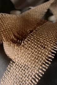 burlap ribbon burlap ribbon open weave 1 1 2 x 10 yards