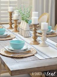 Teal Dining Table by Modern Rustic Dining Table Update With Urban Home