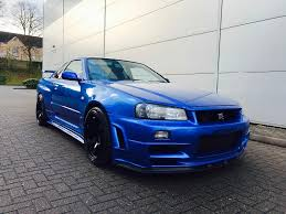 nissan skyline r34 2 6 gtr 2dr v spec z tune body styling