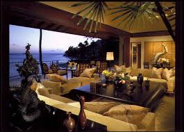 Lanai Design Living Room U0026 Lanai Tropical Living Room Hawaii By Saint