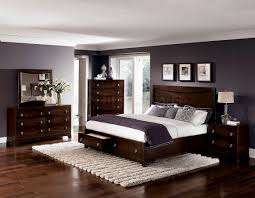bedroom beautiful bedroom color ideas with dark brown furniture