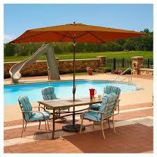 Patio Table With Umbrella Island Umbrella Patio Umbrellas Target
