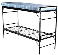Surplus Bunk Beds Blantex 2 Wwii Army Style Bunkable Beds With 4 Foam