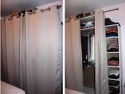 rideau placard chambre tringle rideau armoire my