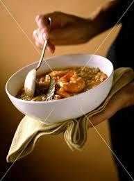 cajun küche garnelen gumbo aus der cajun küche louisiana bild kaufen