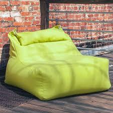 ponce outdoor bean bag lounger aqua jaxx outdoor touch of modern