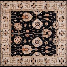 artistic weavers michael black 9 ft 9 in round area rug mcl 7072