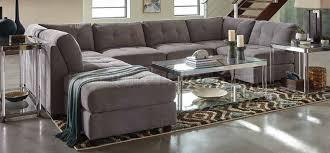 Sectional Sofa Modular Claude Modular Sectional Sofa 7pc 551004 Dove Fabric By Coaster