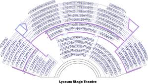 Globe Theatre Floor Plan The Lyceum Stage San Diego Tickets Schedule Seating Charts