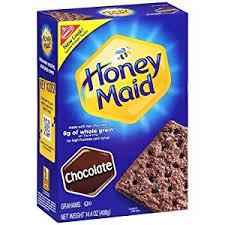 honey chocolate graham crackers 14 4 oz