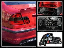 e38 euro tail lights 99 04 bmw e46 3 series altezza style red smoke euro tail lights