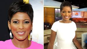 tamron hall natural hair see her wear it on tv for the first time