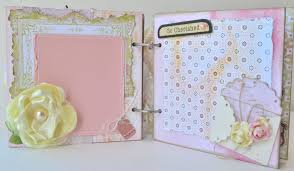 baby girl scrapbook album scrappy stuff new mini albums in the scrappy stuff etsy store