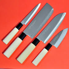 Japanese Kitchen Knives Set Set Japanese Kitchen Chef Knife Santoku Nakiri Small Couteau Japon