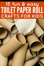 Easy Paper Craft Ideas For Kids - 15 fun u0026 easy toilet paper roll crafts for kids