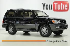 lexus orland park used cars chicago cars direct presents a 2002 lexus lx470 4wd black onyx