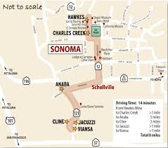 Sonoma Winery Map Sonoma Carneros Wine Country This Week Magazine Wineries Wine