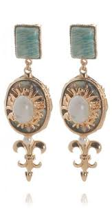 outhouse earrings gold leaf earrings https www rocknshop brand outhouse html