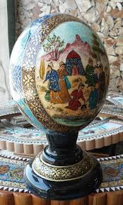 painted ostrich eggs painted ostrich egg shell deco eggs kraslice pysanky