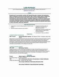 how to type a resume gallery of resume for teaching position best letter sle
