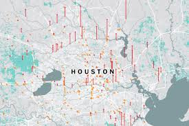 Map Of Spring Texas Houston Flooding Map The Effect Of Harvey On Texas And Louisiana