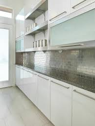 frosted glass backsplash in kitchen rooms viewer hgtv