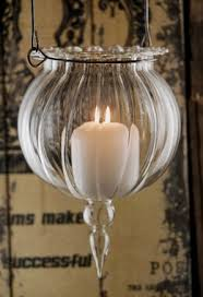 Candle Pedestals 7 Inch Glass Hanging Candle Holders