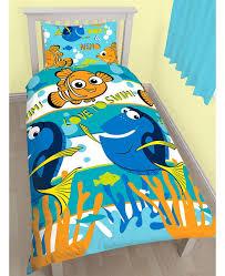 Teal Single Duvet Cover Finding Nemo Dory Single Duvet Cover And Pillowcase Set Bedroom
