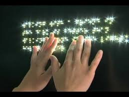 lighting for visually impaired art exhibit for the blind opens in sydney youtube