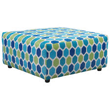 benchcraft ayanna nuvella oversized accent ottoman in performance