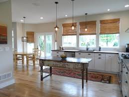 High Ceiling Kitchen by Traditional Kitchen With Flat Panel Cabinets U0026 Flush In Lewis