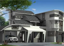 modern style home plans corner kerala along with kerala house plans and home for kozhikode