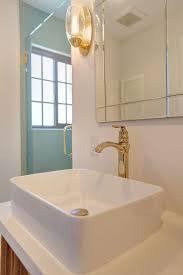 Brass Fixtures Bathroom Beautiful Bath Niche Interior Design Santa Ca