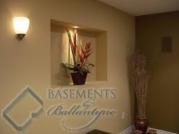 Recessed Wall Niche Decorating Ideas Basements By Ballantyne Niches U0026 Cabinet Pictures