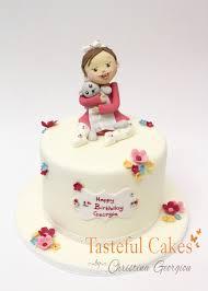 1st Birthday Cake Tasteful Cakes By Christina Georgiou Girls 1st Birthday Cake