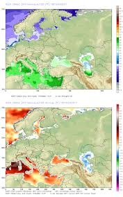 European Weather Map by Sea Surface Temperatures Around The Coast Of Europe U2013 June 19