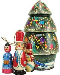 savings on russian tree nested doll ornament